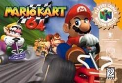 Mario Kart 64 (USA) Box Scan